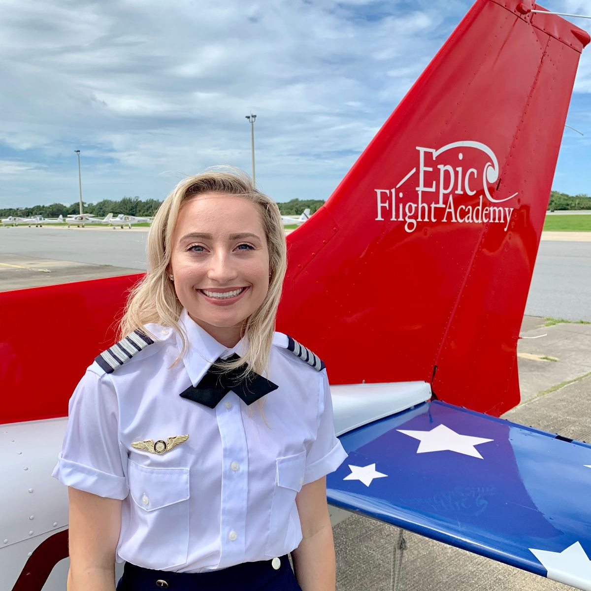 CFI Emma Grimes at Epic Flight Academy