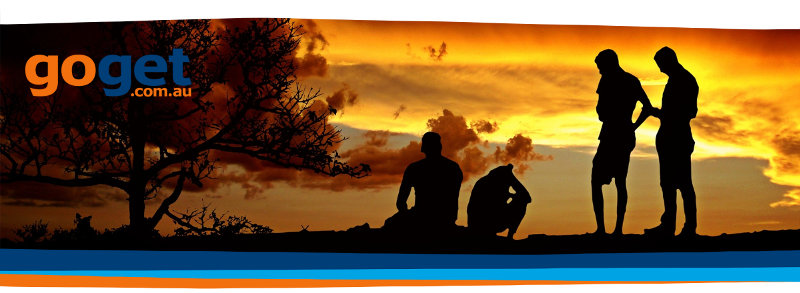 Newsletter Banner, a silhouette of a group of friends on a ridge in front of an orange sunset, with a dark tree on the left