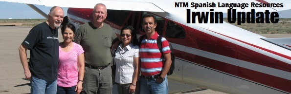 Irwins, Paul Dye and Hortas with plane