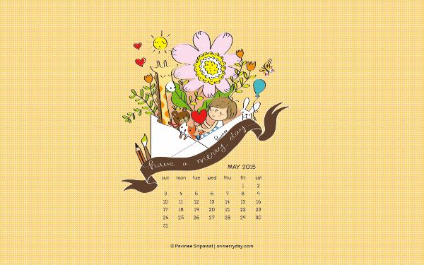 merryday-calendar-wallpaper