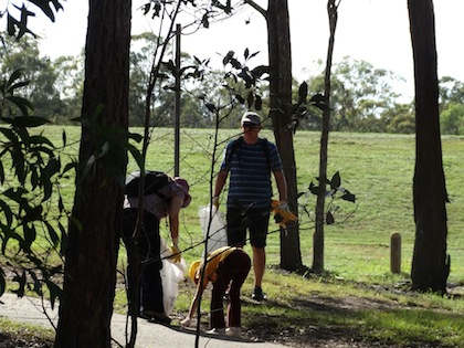 Clean Up Australia Day at Whites Hill Reserve