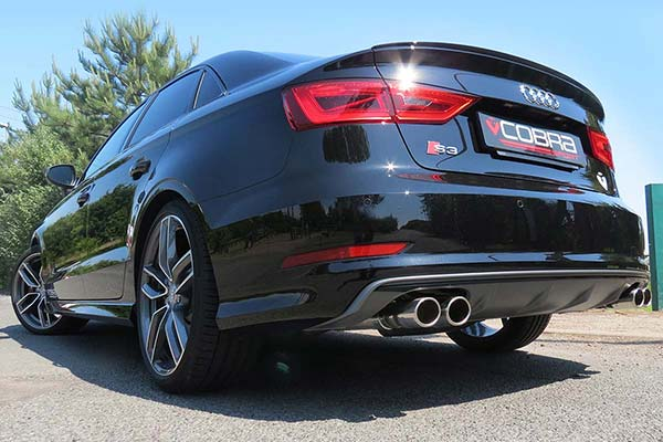 Audi S3 Saloon Performance Exhaust