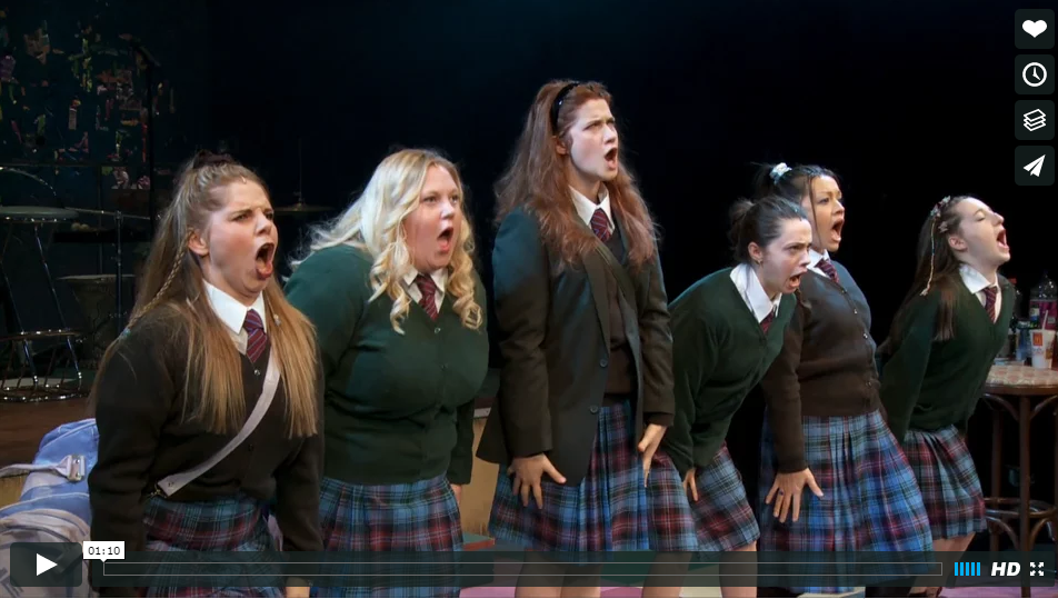 "Click on the image to view a clip from ""Our Ladies of Perpetual Succour."""
