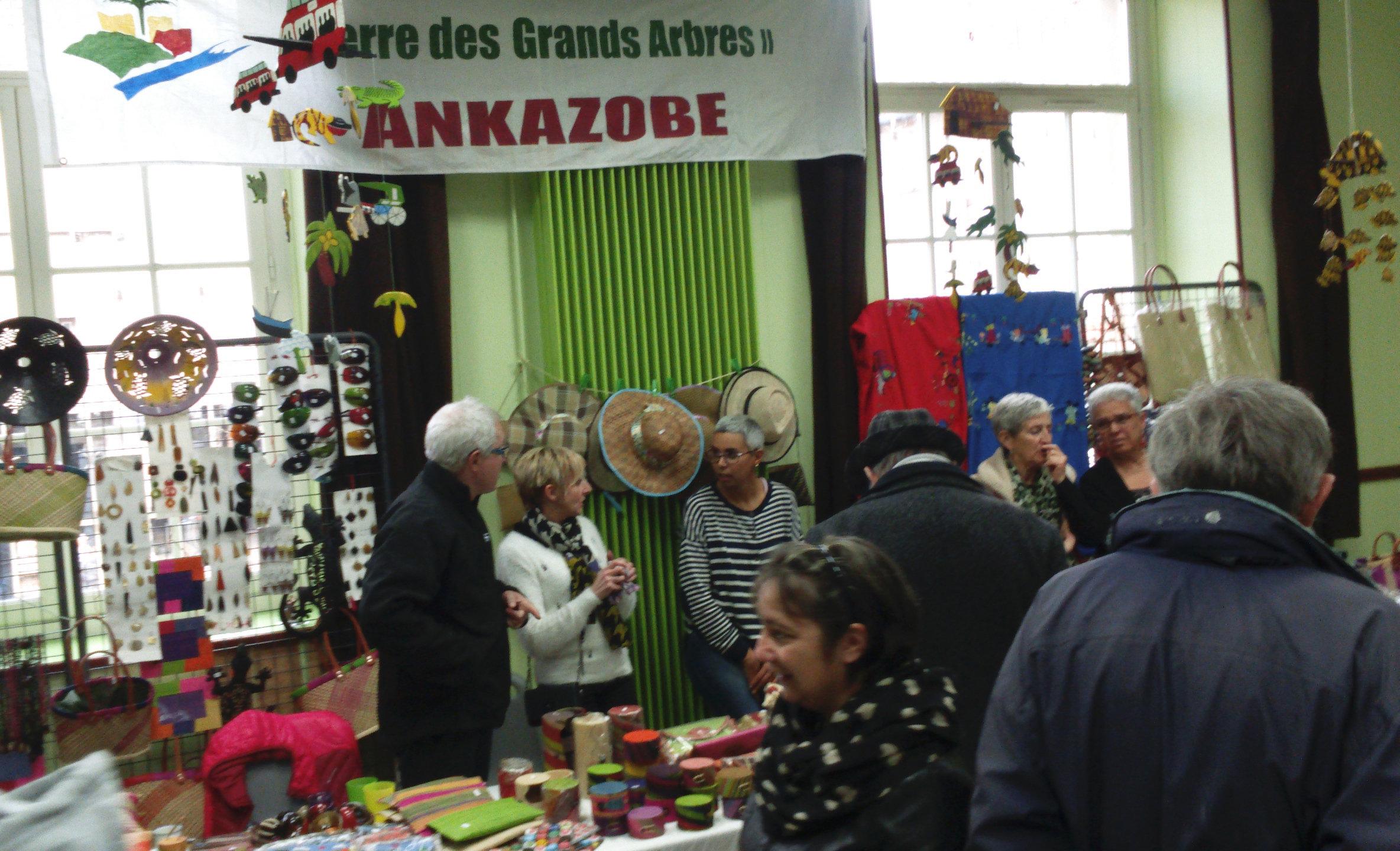 Stand au marché de Noël