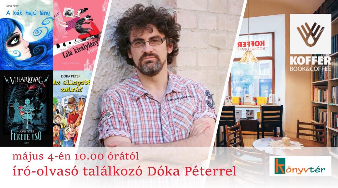 Író-olvasó találkozó Dóka Péterrel (Kolozsvár)