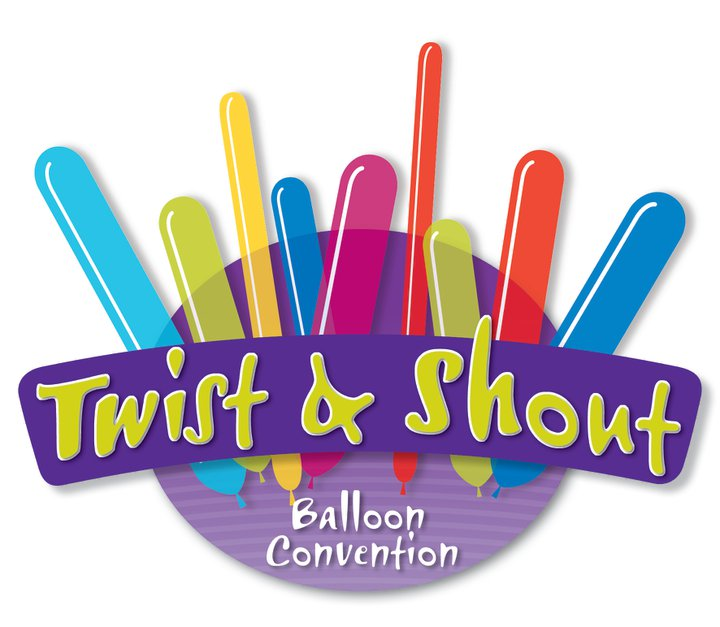 Twist & Shout Balloon Convention logo