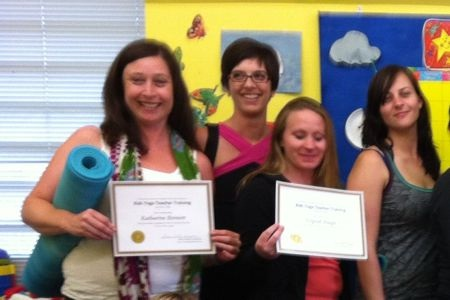 Happy to be Certified as a Kids Yoga Teacher!