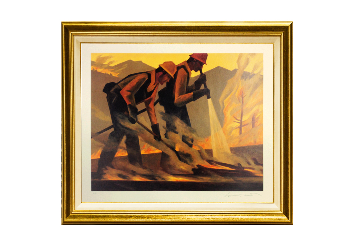 "Ed Mell ""Courage Under Fire"""