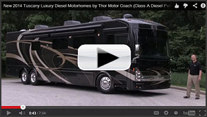 2014 Tuscany Luxury Motorhomes Video Review...
