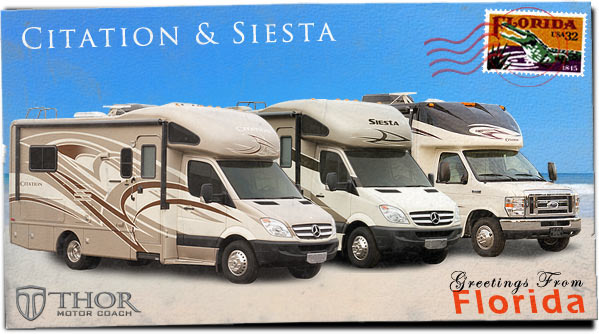 Class B Plus Motorhomes at Tampa RV Show
