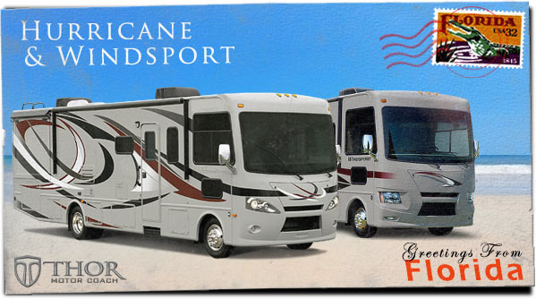 Class A Motorhomes at Tampa RV Show