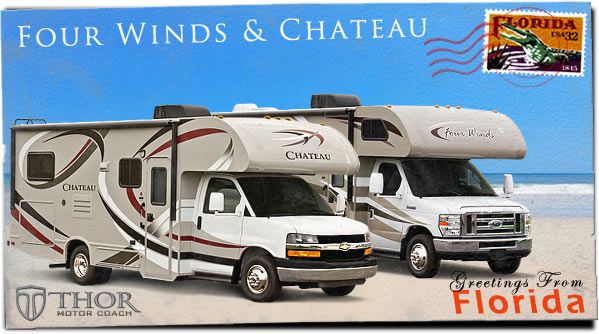 Class C Motorhomes at Tampa RV Show