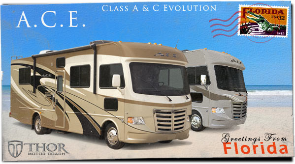 Best of A Class A & Class C Motorhome at Tampa RV Show