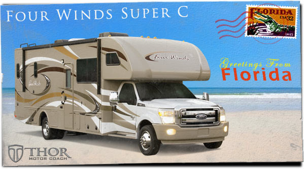 Super C Motorhomes at Tampa RV Show