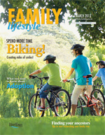 Family Lifestyle Magazine Cover