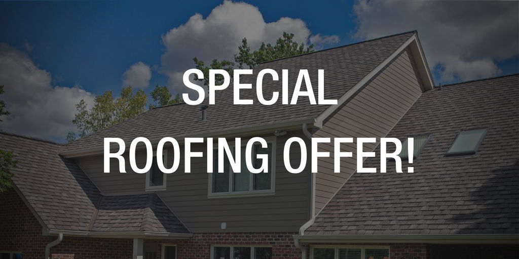 Roof replacement special offer