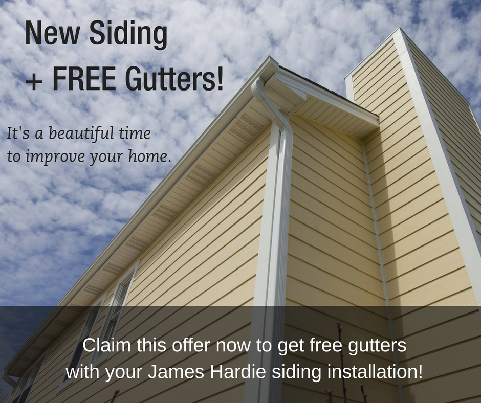 Siding replacement special offer