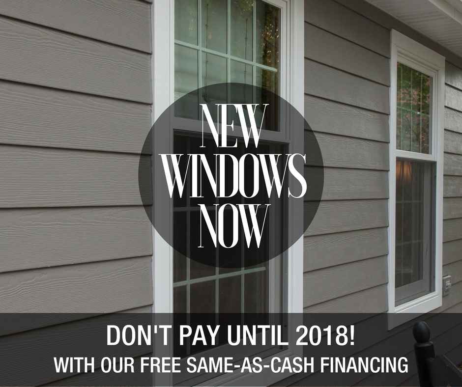 Window replacement special offer