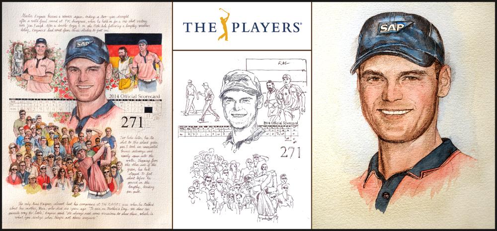 THE PLAYERS Champion, Martin Kaymer