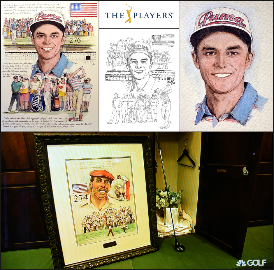 THE PLAYERS Champion, Rickie Fowler