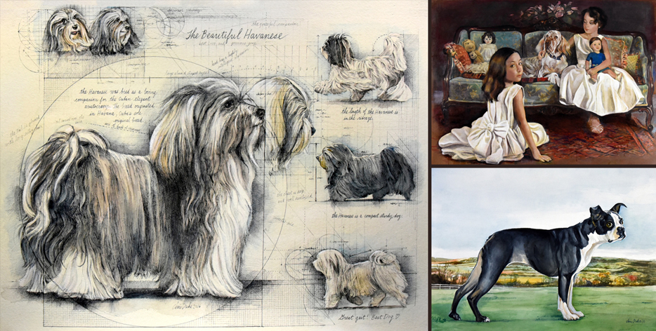 Latest Dog Paintings