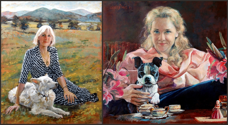 Portraits of People and their Dogs