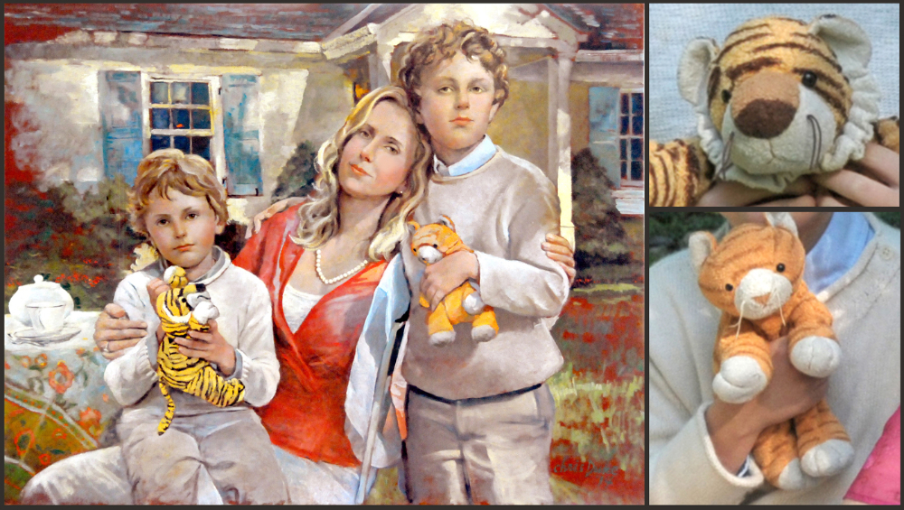 Nancy Slaymaker and her Two Sons