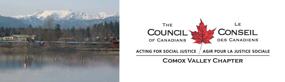 Comox Valley Council of Canadians logo