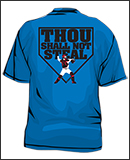 thou shall not steal baseball shirt