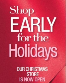 Shop Early - Avon Christmas Store is now open!