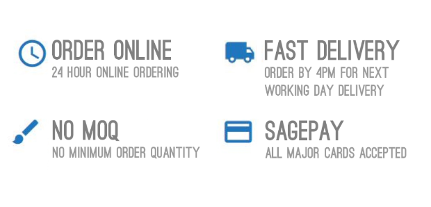 No MOQ | Fast Next Working Day Delivery | All Major Cards Accepted
