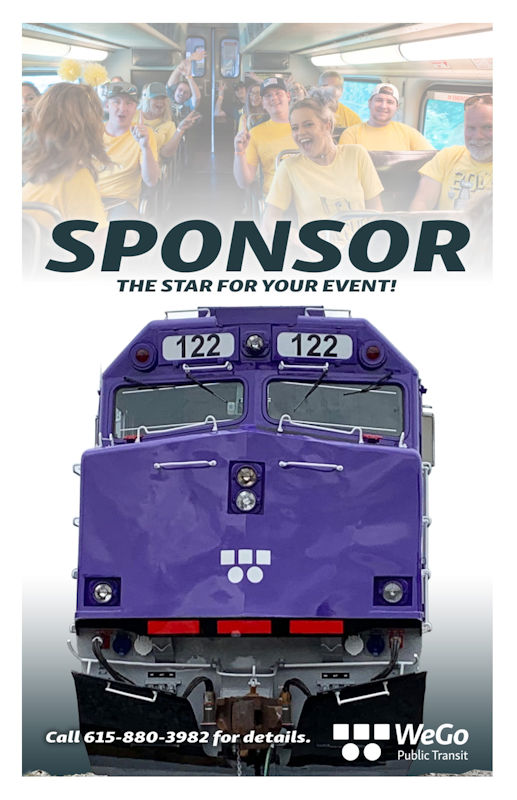 Big thanks goes to Piedmont Gas for sponsoring the first ever Nashville Christmas Parade train ride