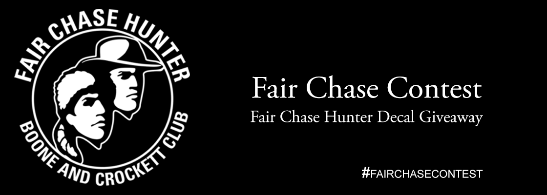 FREE Fair Chase Hunter Decal..