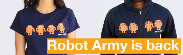 ROBOT ARMY APPAREL