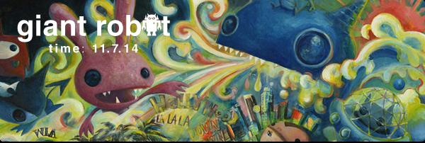 Giant Robot Time: 11.7.14 – GR @ Designer Con / Game Night USC