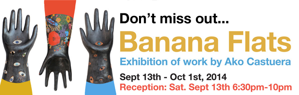 BANANA FLATS EXHIBITION