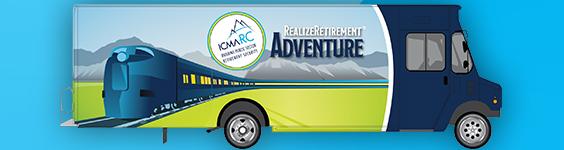 Realize Retirement Tour truck