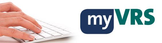 myVRS Banner