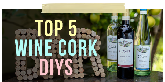 DIY Wine Corks