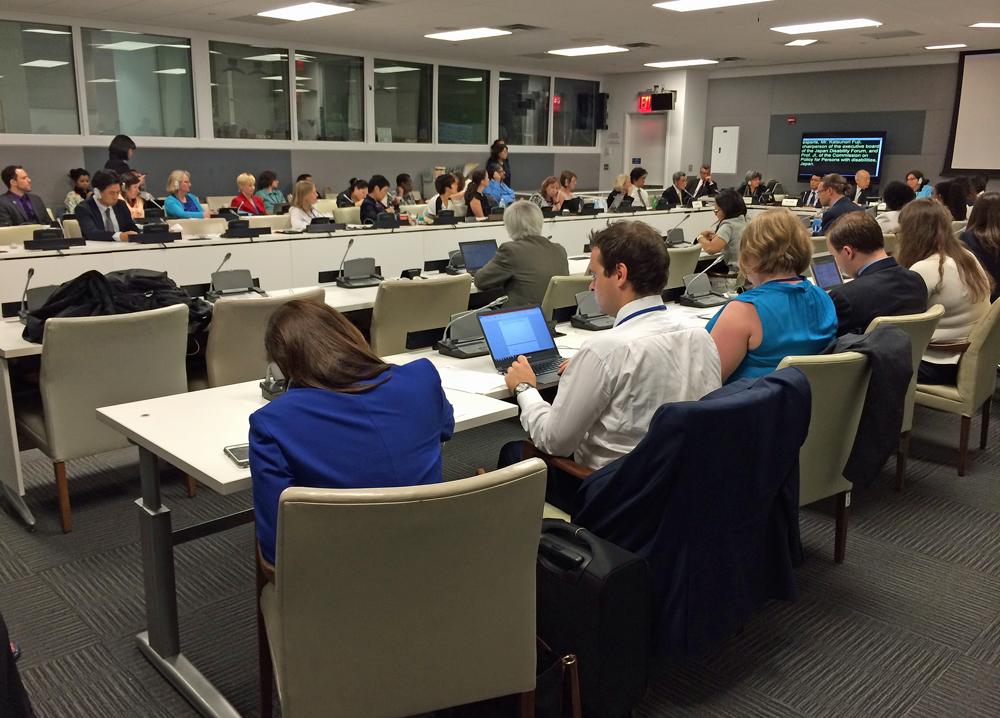UN COSP-7 Side Event Photo