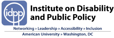 Logo for Institute on Disability and Public Policy