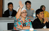 Ms. Azeera Arrifin at the 2012 IDPP Annual Meeting and Residency (photo)
