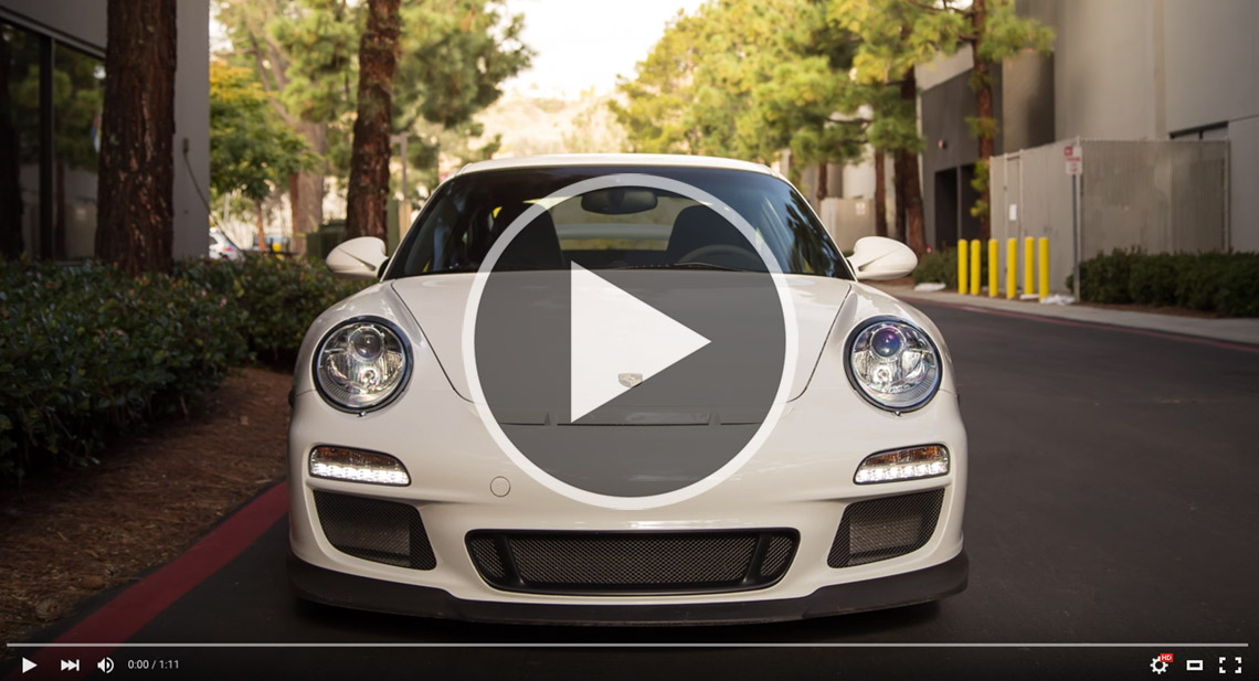 Porsche 997 GT3 Techart Noselift Video