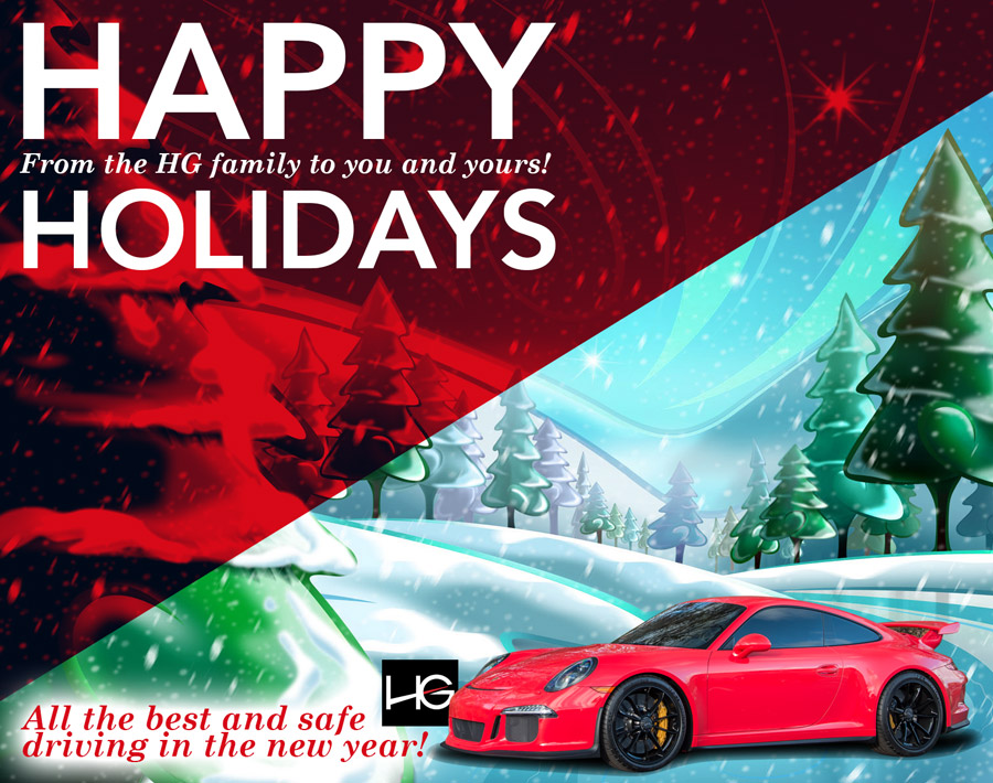 Happy Holidays from HG Motorsports