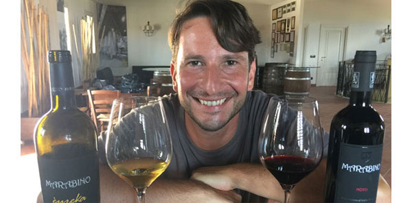 Marabino owner and winemaker, Pierpaolo Messina