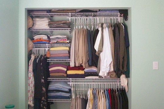 Closet Organizing System