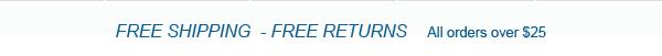 free shipping-free returns