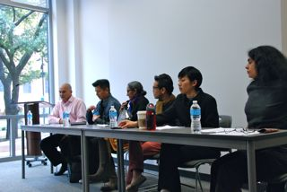 Panelist at the Asian Americans and Fisher V. UT event in November 2012