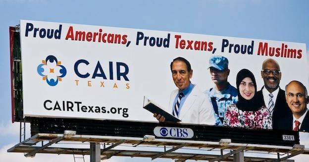 CAIR billboard
