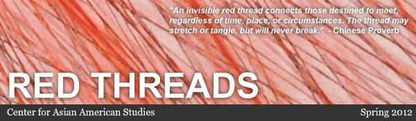 Red Threads, Center for Asian American Studies Newsletter